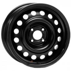 Штампованные колесные диски ТЗСК LADA 5.5x14 4x98 ET35 DIA58.6 Black